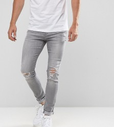 Brooklyn Supply Co Skinny Jeans Venice Bleach Out Wash - Blue