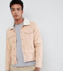 Brooklyn Supply Co Stone Cord Borg Jacket - Beige