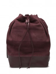 Bucket Backpack Suede