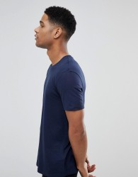 Burton Menswear Crew Neck T-Shirt In Navy - Navy
