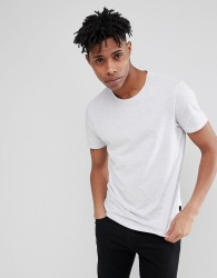 Burton Menswear Regular Fit T-Shirt In Grey Marl - Grey