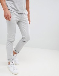 Burton Menswear Skinny Chinos In Grey - Grey