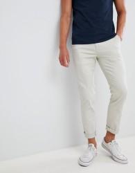 Burton Menswear skinny fit chinos in stone - Beige