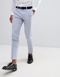 Burton Menswear Skinny Suit Trousers In Light Blue - Blue