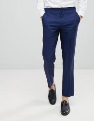Burton Menswear Skinny Tuxedo Trousers - Blue