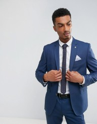 Burton Menswear Slim Suit Jacket in Blue - Blue