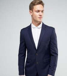 Burton Menswear Slim Suit Jacket - Navy