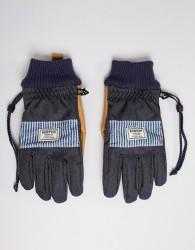 Burton Snowboards Dam Glove in Navy - Navy