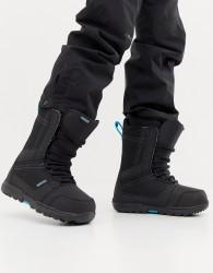 Burtons Snowboards Invader Board Boots in Black - Black