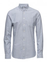 Button Down Oxford Shirt Striped -