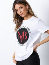 By Malene Birger Aggitas T-shirt Pure White