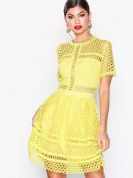 By Malina Emily dress Loose fit Lemon