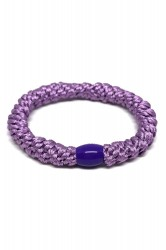 By Stær - Hårelastik - Braided Hairties - Light Purple