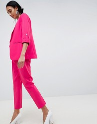 b.Young Waist Tie Suit Trousers - Pink