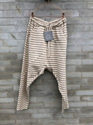Cabana Living - Baggy Pant - Beige Stripes