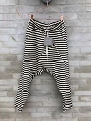 Cabana Living - Baggy Pants - Black Stripes