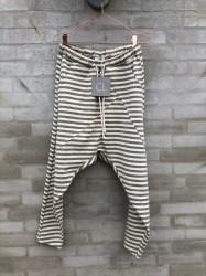 Cabana Living - Baggy Pants - Grey Stripes