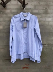 Cabana Living -Skjorte A-facon- Light Blue Stripe