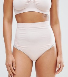 Cache Coeur Pink Maternity Maxi Brief - Pink