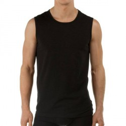 Calida Activity Cotton Tank Top - Black * Kampagne *