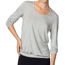 Calida Favourites ¾-Sleeve Top - Greymarl * Kampagne *