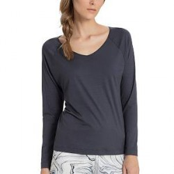Calida Favourites Trend Shirt Long Sleeve - Darkblue - X-Small * Kampagne *