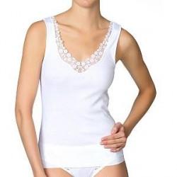 Calida Feminin Sense Top - White - Large