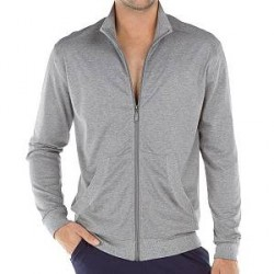 Calida Remix Modern Fit Basic Jacket - Silver * Kampagne *