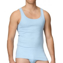 Calida Twisted Athletic Shirt 12010 - Lightblue * Kampagne *