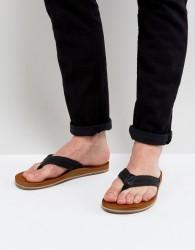Call It Spring Agrianiel Flip Flops In Black - Black