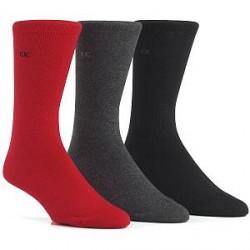 Calvin Klein 3-pak Cotton Sock - Red * Kampagne *
