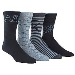 Calvin Klein 4-pak Farrel Logo Socks Gift Box - Mixed * Kampagne *
