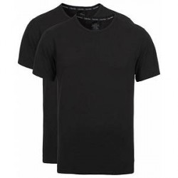 Calvin Klein Cotton Crew Neck Tee 2- Pack Black