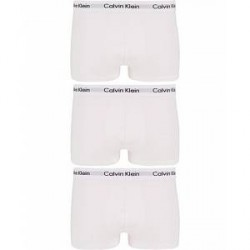 Calvin Klein Cotton Stretch Trunk 3-pack White