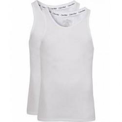 Calvin Klein Cotton Tank Top 2-Pack White