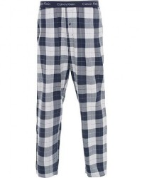 Calvin Klein Flannel Checked Pyjama Trousers Blue/White men L