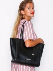 Calvin Klein Frame Large Shopper Håndtaske Sort