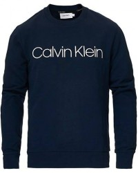 Calvin Klein Front Logo Sweatshirt Navy men S Blå