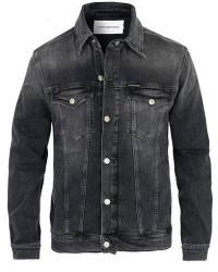 Calvin Klein Jeans Foundation Denim Jacket Washed Black men XL