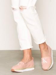 Calvin Klein Jeans Genna Canvas Espadrilles Rosa/Lyserød