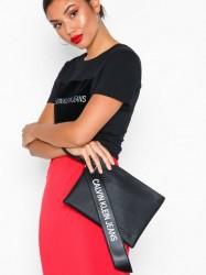 Calvin Klein Jeans Logo Banner Medium Pouch Håndtaske Sort