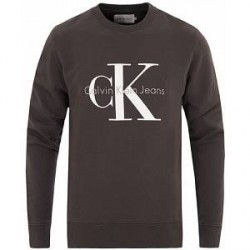 Calvin Klein Jeans True Icon Crew Neck Sweat Black