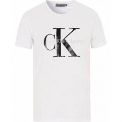 Calvin Klein Jeans True Icon Crew Neck Tee Bright White