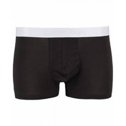 Calvin Klein Liquid Stretch Cotton Trunk Black