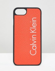 Calvin Klein Logo Iphone 7 Case - Orange