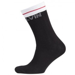 Calvin Klein Modern Cotton Logo Tube Kris Socks - Black
