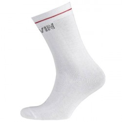 Calvin Klein Modern Cotton Logo Tube Kris Socks - White