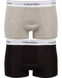 Calvin Klein Modern Cotton Stretch Trunk Heather Grey/Black men XL Sort