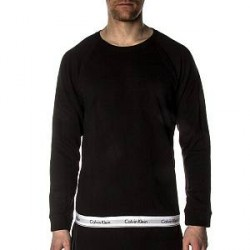 Calvin Klein Modern Cotton Sweatshirt - Black - Medium