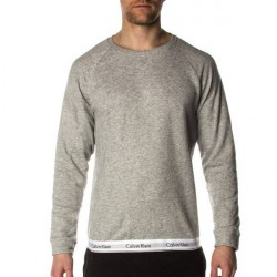Calvin Klein Modern Cotton Sweatshirt - Grey